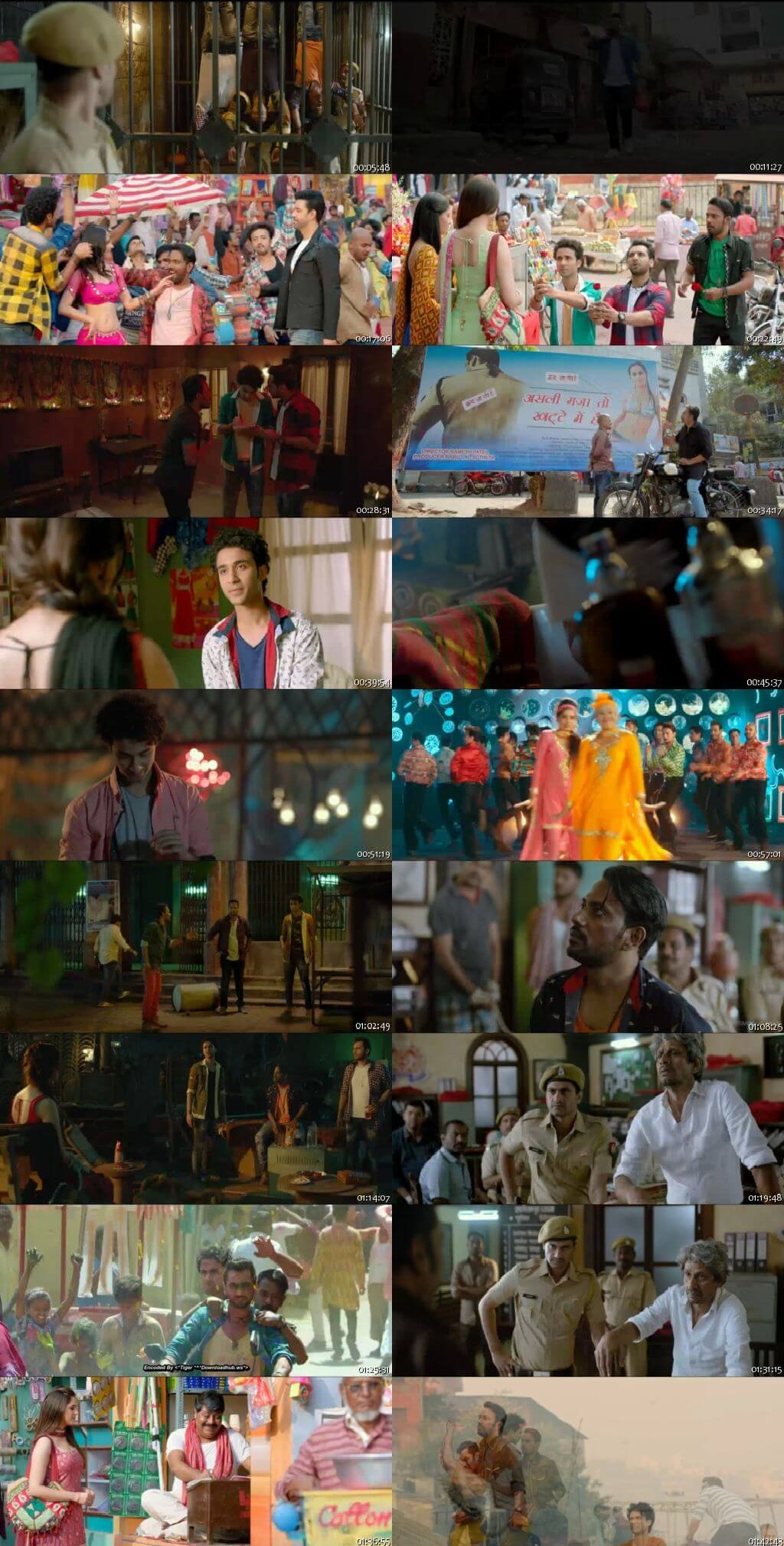 Screen Shot Of Nawabzaade 2018 300MB HDRip 480P Full Hindi Movie Watch Online Free Download
