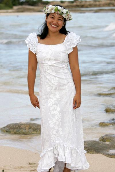Formal Dresses Prom Dresses and Evening Dresses Native Hawaiian Wedding Dress Simple