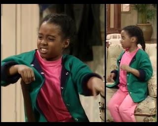 Cosby Show Huxtable fashion blog 80s sitcom Rudy Keshia Knight Pulliam