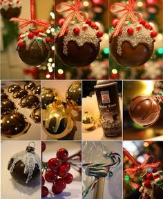 Dicas e ideias de bolas de natal diferentes - fotos