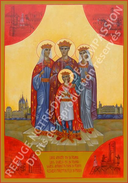 Sainte Icône de la Famille Royale martyre