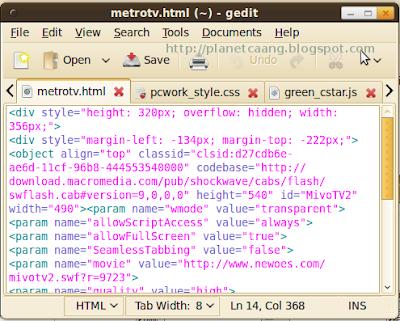 html_gedit
