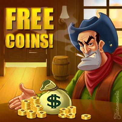 slotomania free coins no survey