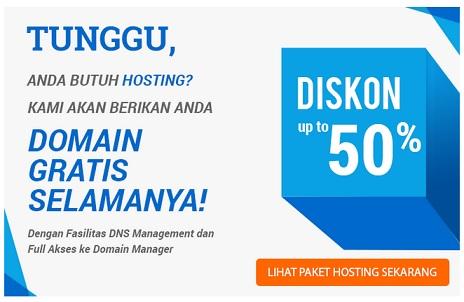 hosting murah, gratis domain