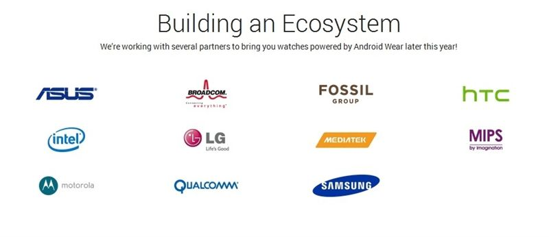 Google confirma los fabricantes que preparan relojes con Android Wear