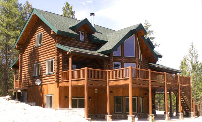 Luxury Lodge Style Home Plans