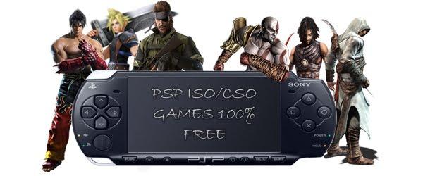 PSP ISO/CSO Games