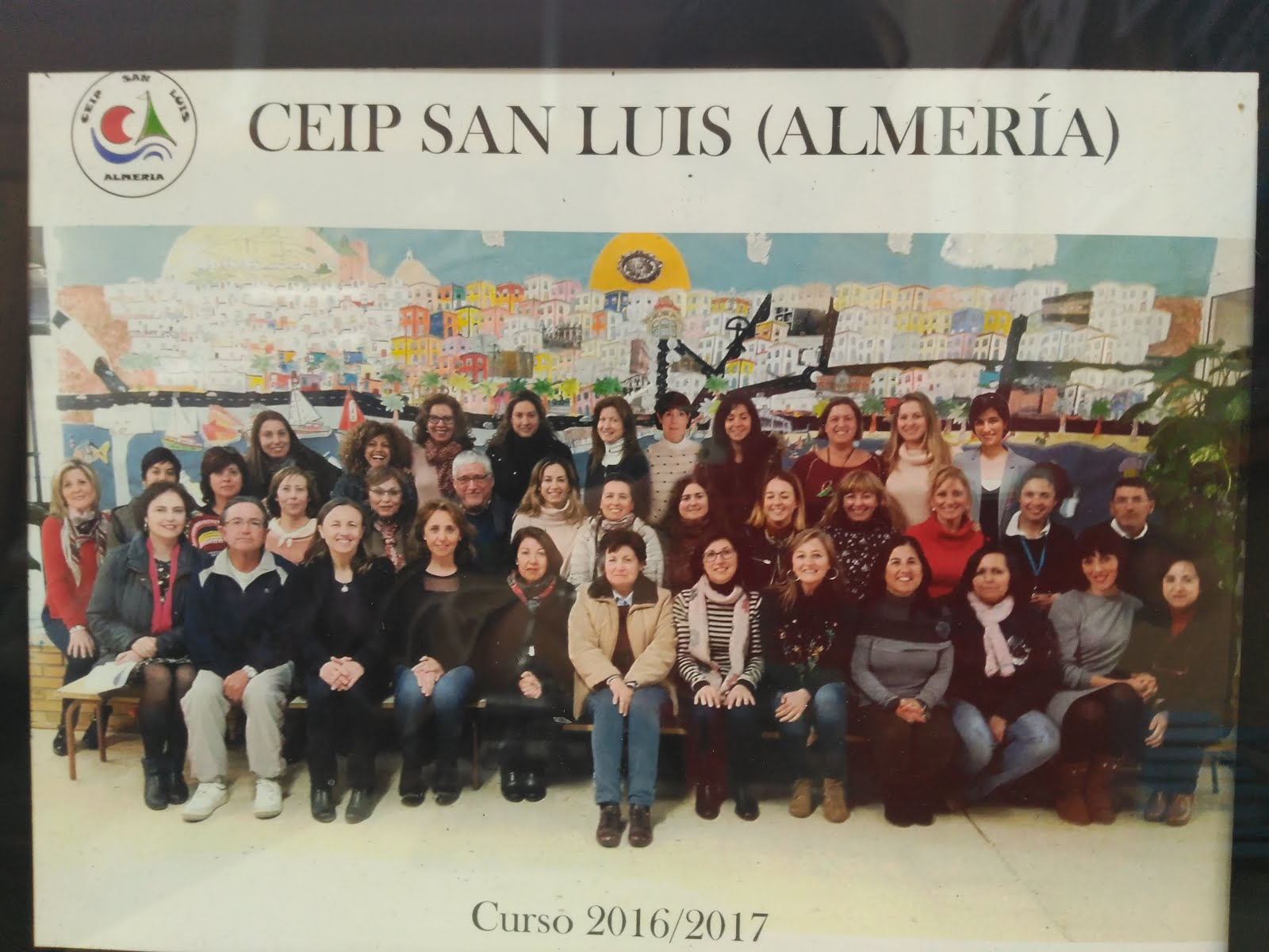 Comunidad Educativa CEIP San Luis con la visita de nuestra Delegada