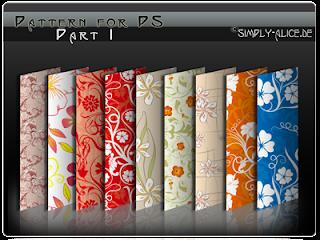 patterns florais photofiltre e photoshop