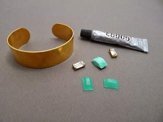 Metal Bilezik Süsleme Yapımı