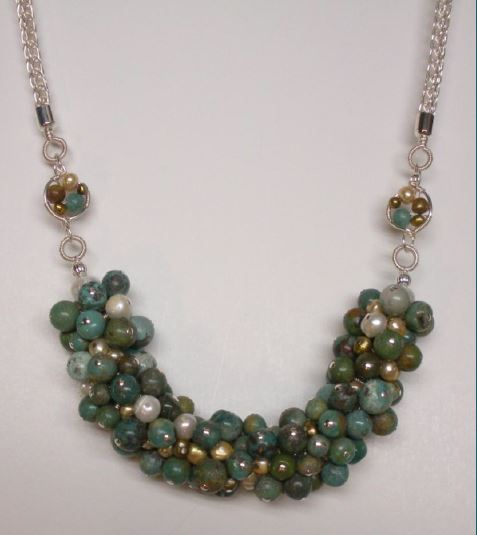 judy larson s leftover madness bead necklace tutorial