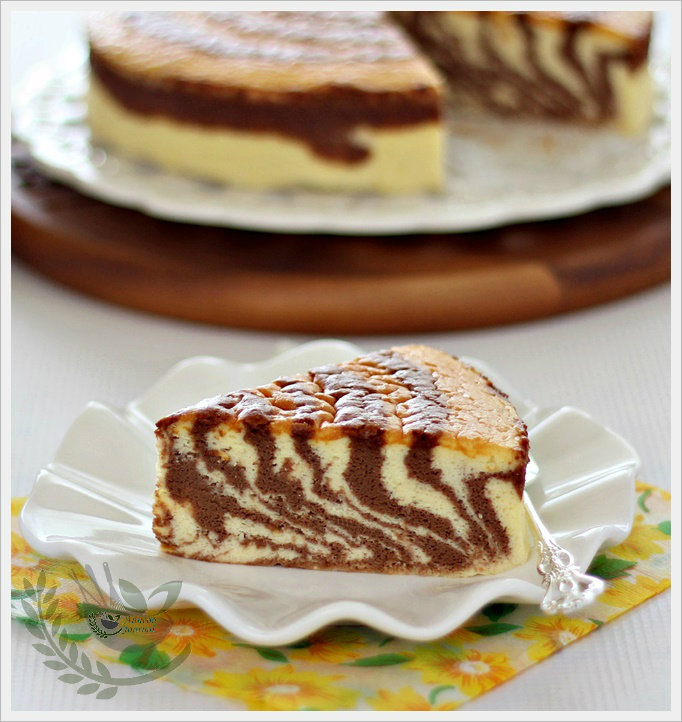 Japanese Souffle Cake Layered