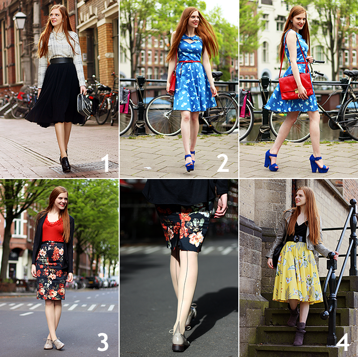 Fashion Blogger Outfits April Spring 2014 SS14 Lookbook Recap Amsterdam Dutch Nederland