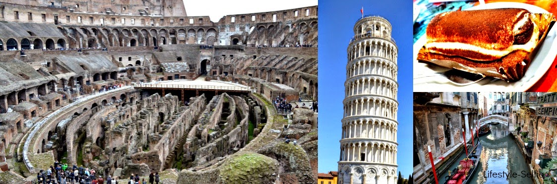 Pisa, Colosseum and The Venice- Wrap up.