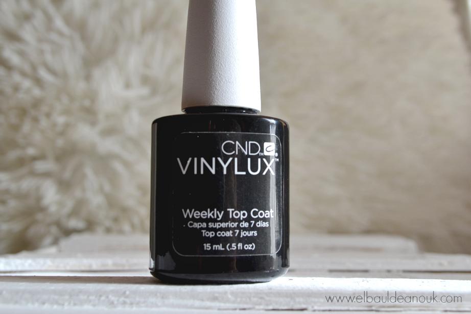 CND Vinylux | Esmaltes de 7 días - El baúl de Anouk