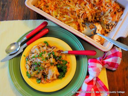 Cabbage Caboodle Casserole