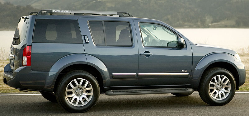 2005 Nissan Pathfinder Le 4X4 hd gallery