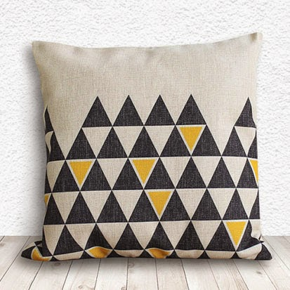 Ma Bicyclette: Buy Handmade | Christmas Gift Guide For Her - Geometric Print Cushion
