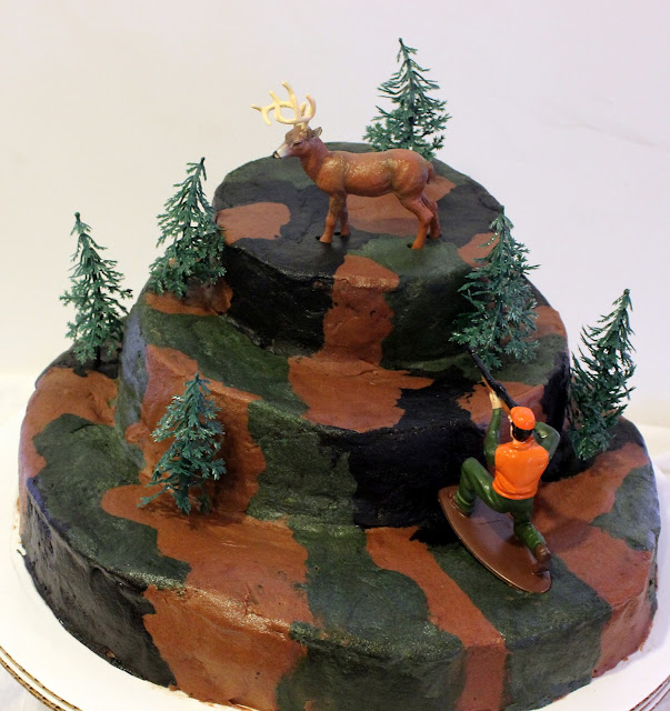 Kitchie Coo Camouflage Cake