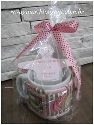 Chá de Fraldas - decoração linda e chic