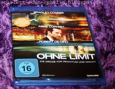 Blu-Ray Review Film, Cover, Limitless, ohne Limit