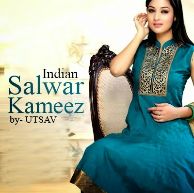 Indian Salwar Kameez Designs 2014 by Utsav Fashion