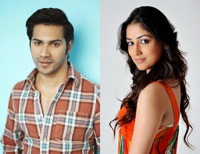 Yami Gautam and Varun Dhawan