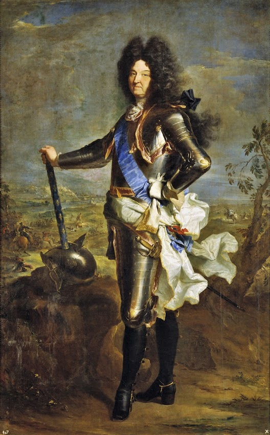 Hyacinthe Rigaud - Louis XIV, roi de France 1701
