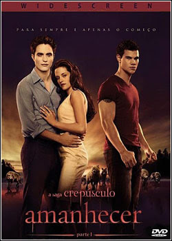Modelo Capa Download   A Saga Crepúsculo   Amanhecer Parte 1 DVD R   Dual Áudio