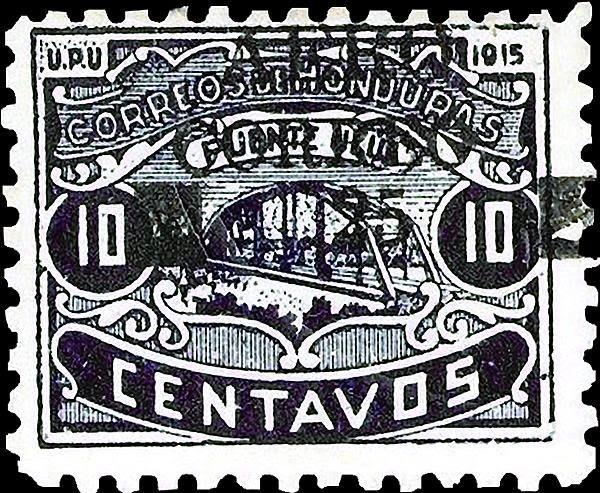 Honduras,filatelia, correo aereo,