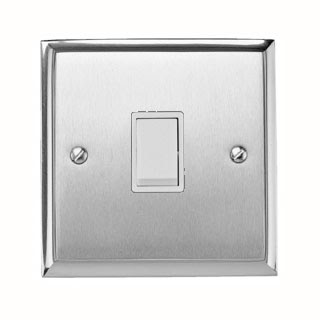 Heritage Brass P991, Contractor Range 1 Gang 2 Way 6A Rocker Switch
