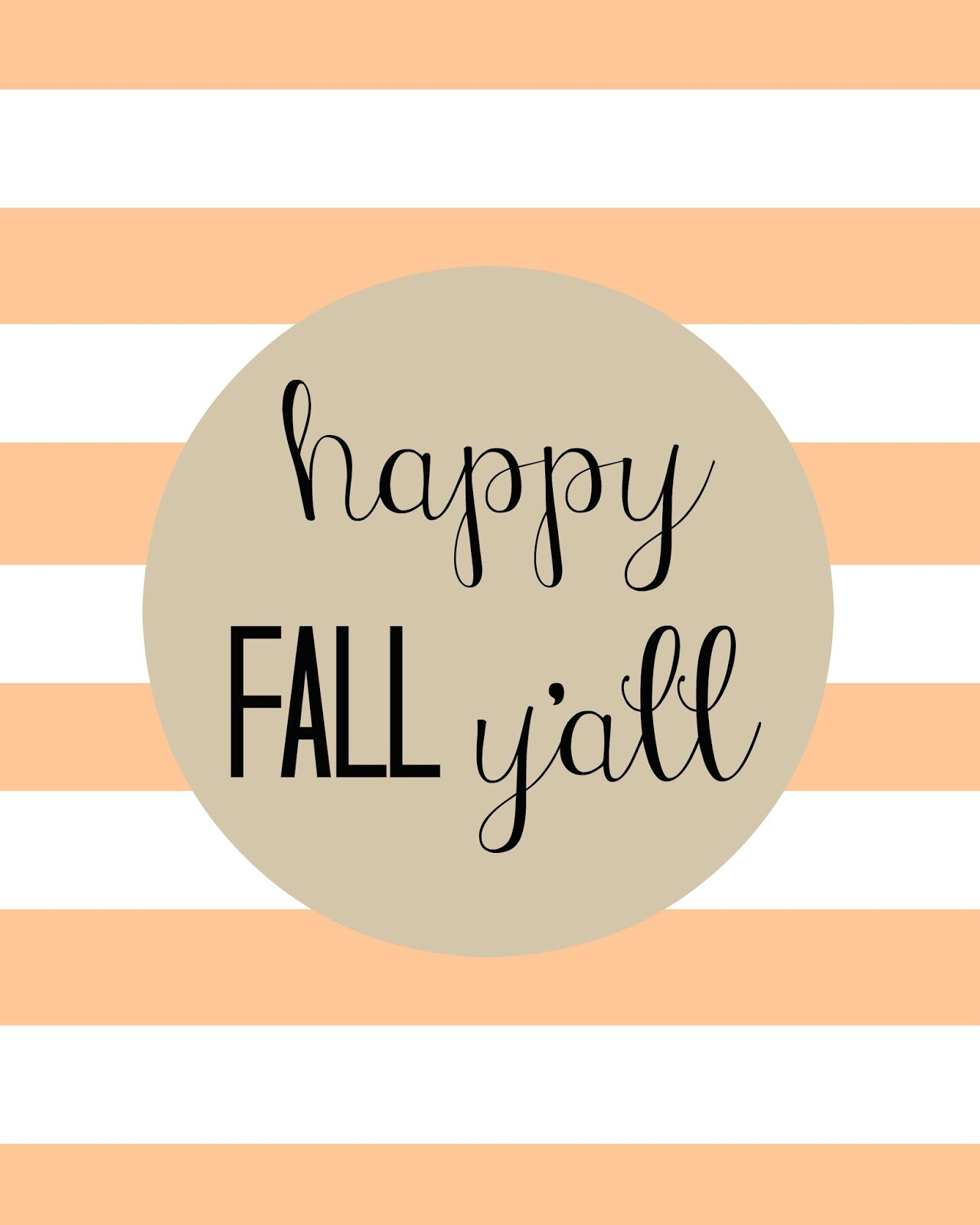It's just a picture of Epic Happy Fall Y All Printable