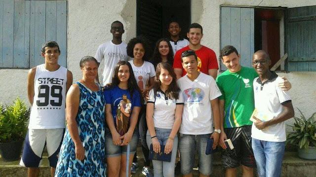 Jovens fazem Missão na Comunidade Rural São José do Sertãozinho, em Resende (RJ)