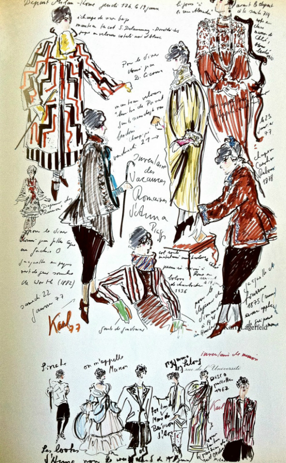 All Style And All Substance Fashion Sketchbook Inspiration