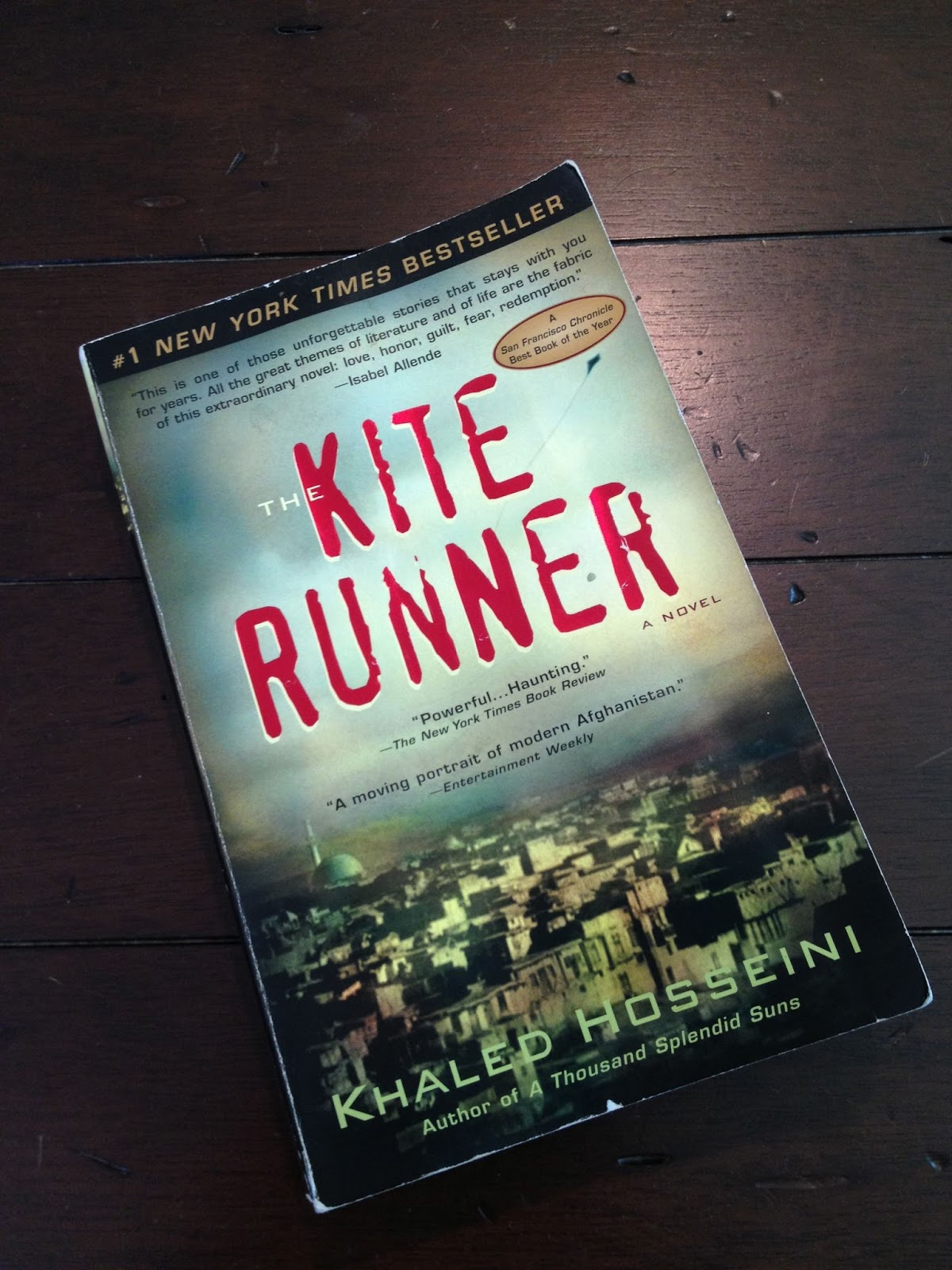 just a small town girl the kite runner a brief review i ve technically been reading this next book the kite runner since i wrote the last book related blog post but i also decided to paint the majority of my
