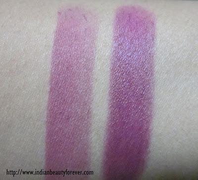 lakme lipstick swatch