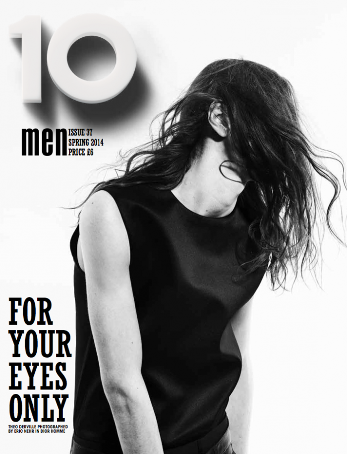 Magazine Photoshoot : Natalia Siodmiak Photoshot For 10 Magazine Paris Spring 2014 Issue