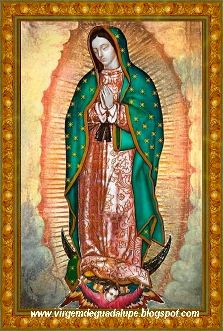 VIRGEM DE GUADALUPE - PADROEIRA DO BLOG
