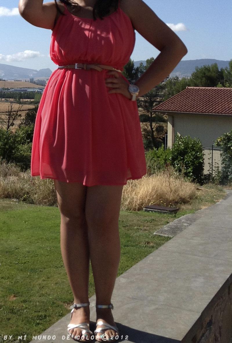look coral dress colors