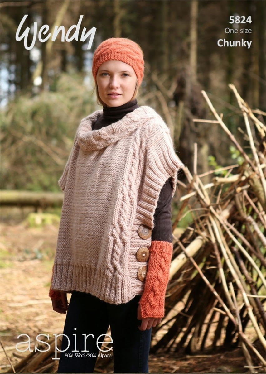 Knit or Crochet Patterns using Aspire yarn by Wendy