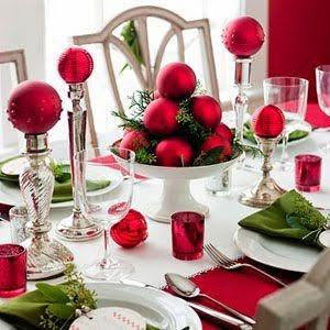 Ideas para poner una mesa navide a - Mesa navidena ...