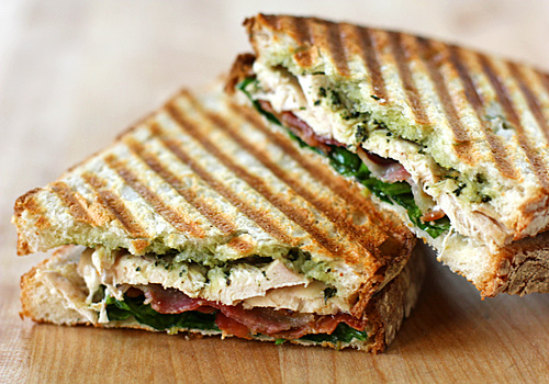 Spinach, Goat Cheese And Sun-Dried Tomato Panini Recipe ...