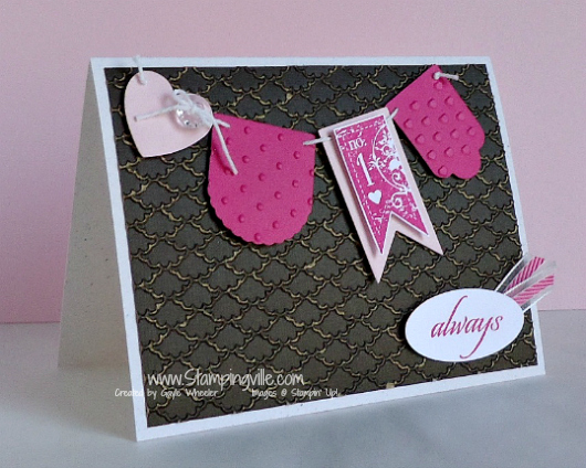 Stampin' Up! Affection Collection Stamp Set Card
