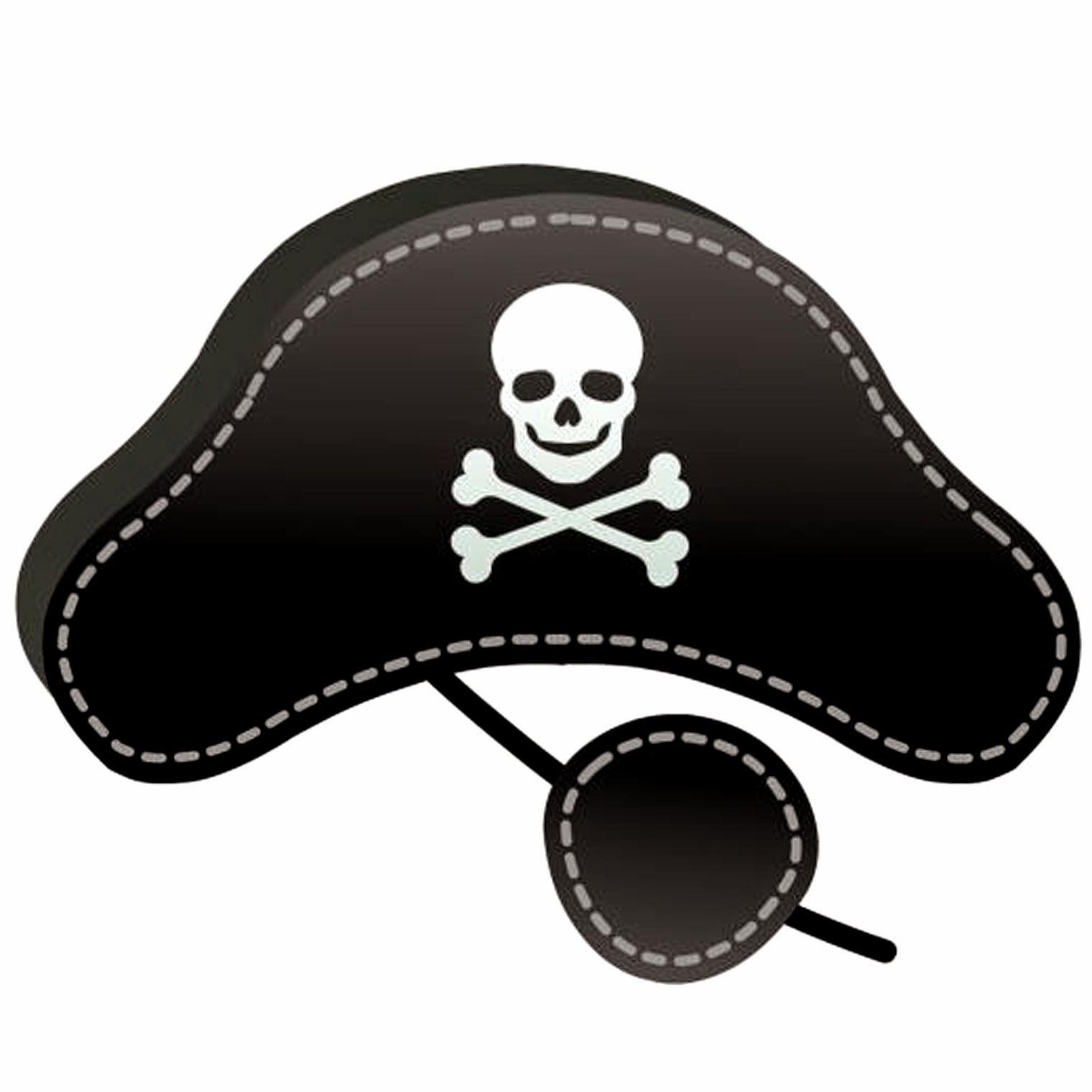 Наглазник пиратский своими руками