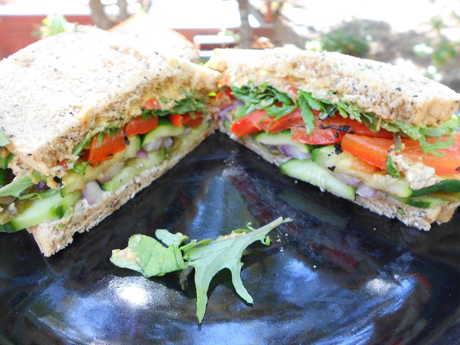 Plant Infusions: The Zucchini Grillini // Kids' Tofu & Hummus