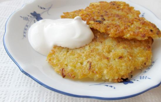 Potato pancakes, кухня, деруны