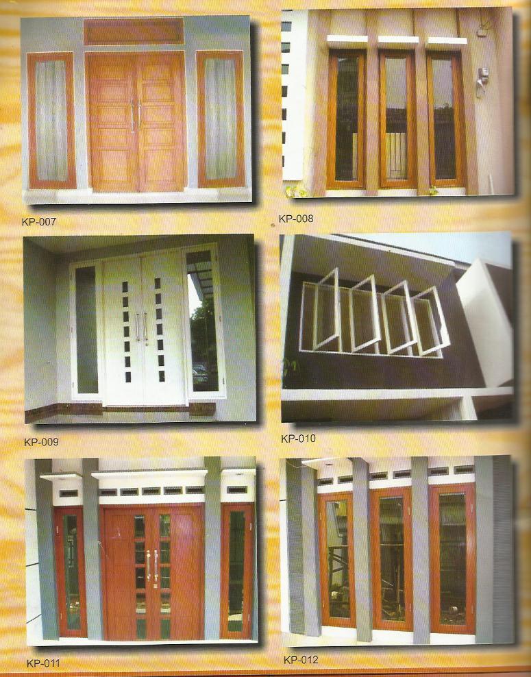 model profil jendela