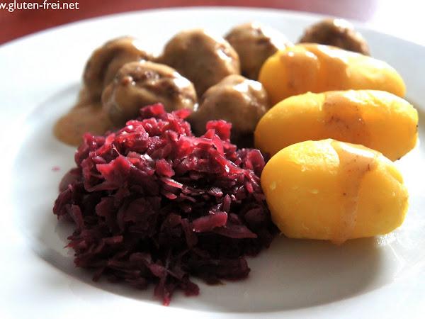 REZEPT: glutenfreie schwedische Hackbällchen