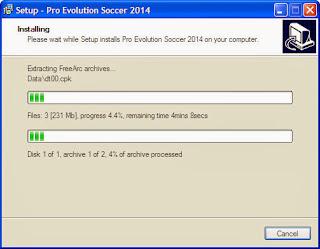 ลงเกมส์ PES 2014
