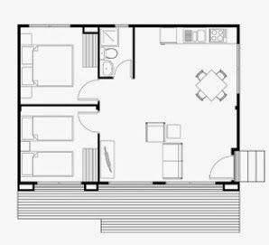 Planos de casas gratis plano para construir en terreno for Planos gratis para construir casas